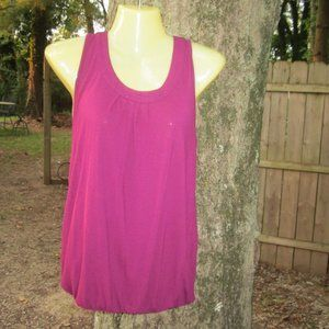 Ann Taylor LOFT XS purple tank top
